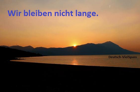 06.08 - Deutsch Lernen mit Sätze