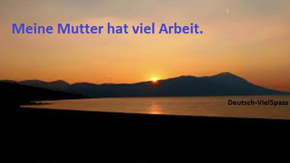 heute - Deutsch Lernen mit Sätze