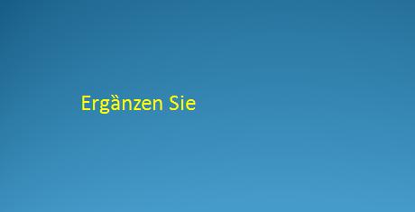 kizfziul 1 - Freie Übung