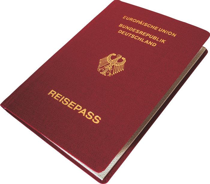 Reisepass 201100280625 - der Pass