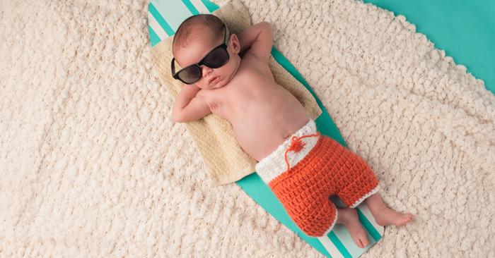 hitze baby was tun - Entspannung