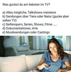 11111111 - Was guckst du am liebsten im TV?