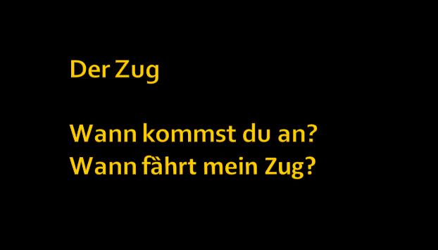 drtfuzgiuhoi - Der Zug