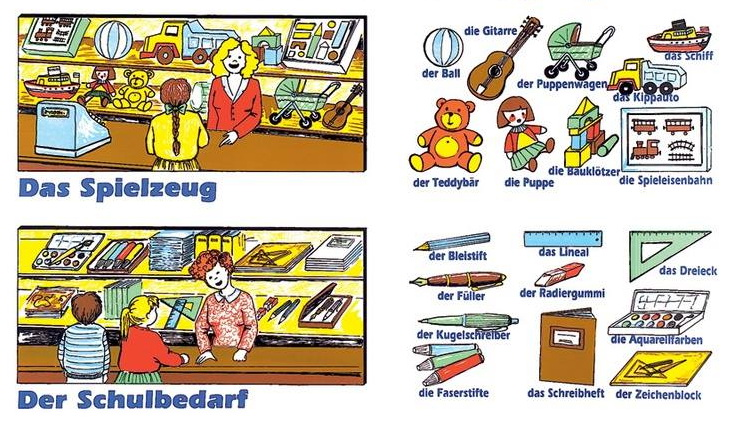 xtrzctuvzibon - Das Spielzeug/Der Schulbedarf