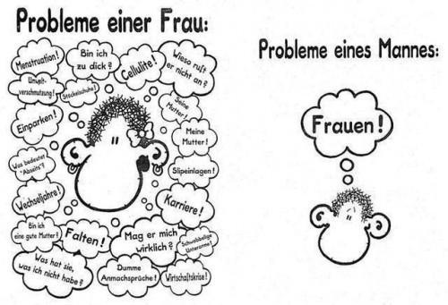hbjn - Probleme einer Frau / Probleme eines Mannes