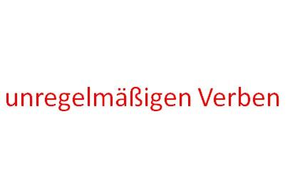 ifiogu 2 - Unregelmäßige Verben
