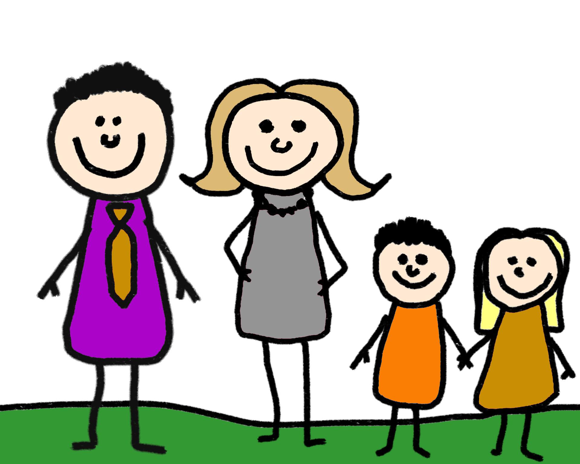 familie - Familienstand, Familie, Kinder