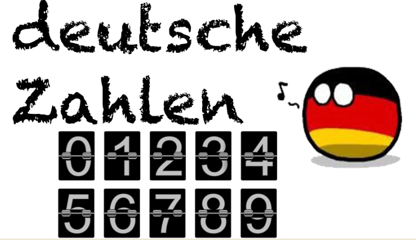 ferg - Deutsche Zahlen