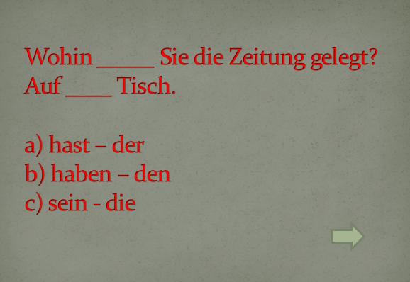 hzut7ziđ - Ergänzen Sie