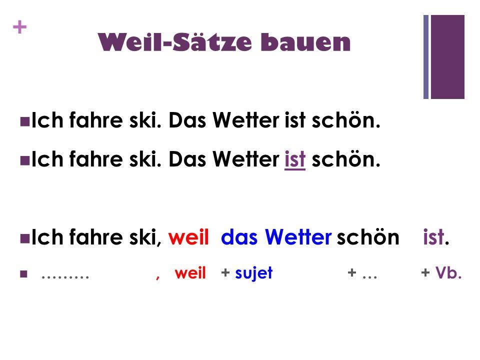 ljkuizvf - Weil - Sätze bauen
