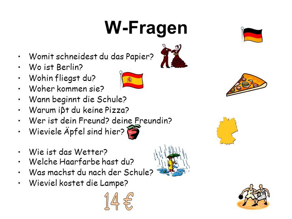 ddddddfeg - W-FRAGEN
