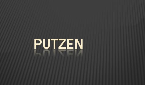 23314 - putzen
