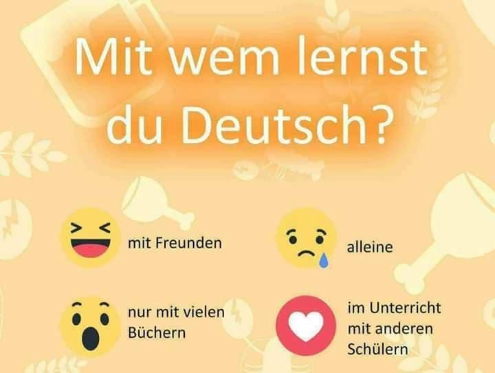 39102647 253304621955296 3240372479155240960 n - Mit  wem   lernst  du  Deutsch?