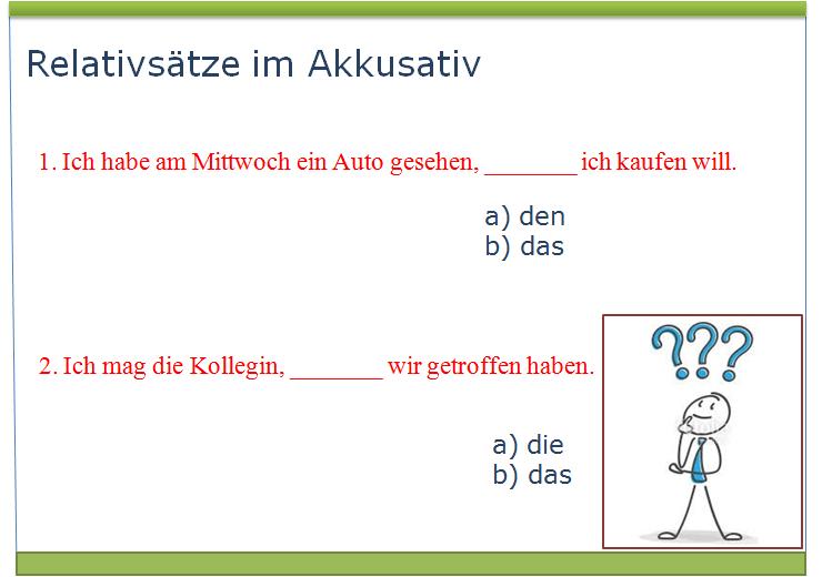 cguvzhibuo - Relativsätze im Akkusativ