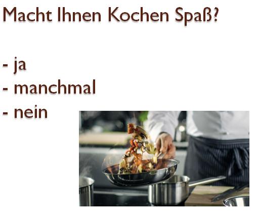 tfuzgiho - Macht Ihnen Kochen Spaß?
