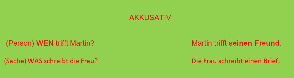 VB - AKKUSATIV