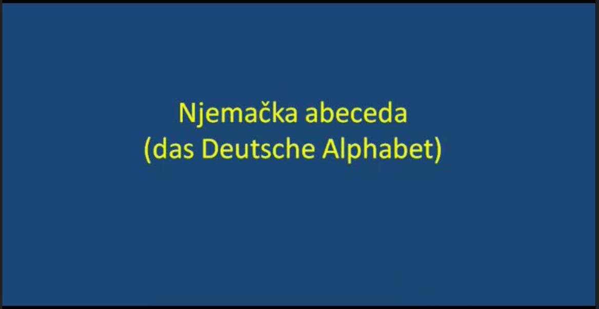 rzdctuvzibuoln - Video: das Deutsche Alphabet