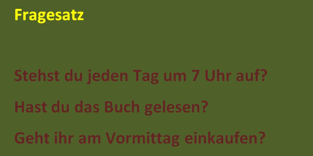 vhbjlnkčmlć - Fragesatz