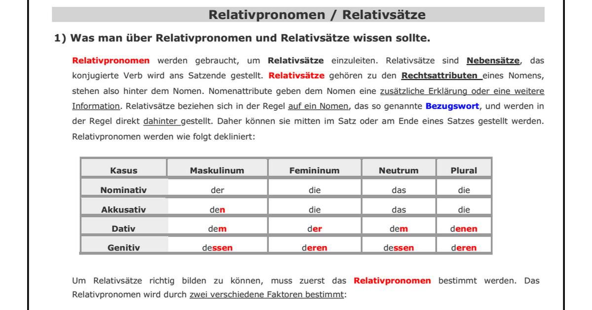 relativpronomen.pdf - Relativpronomen