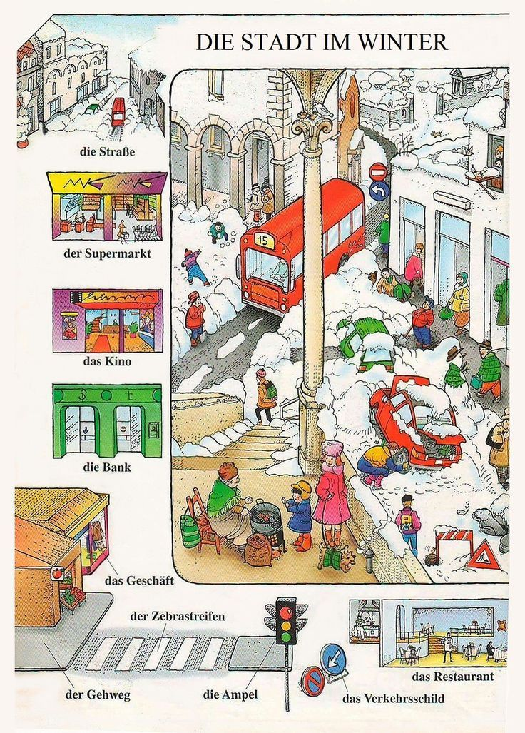 qj3q345j3 - die Stadt im Winter