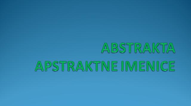 IHOUGIZFUT - ABSTRAKTA - APSTRAKTNE IMENICE