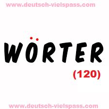 hiug 13 - WÖRTER (120)