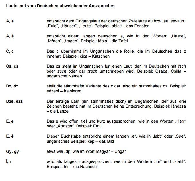 68f79g - Laute mit vom Deutschen abweichender Aussprache