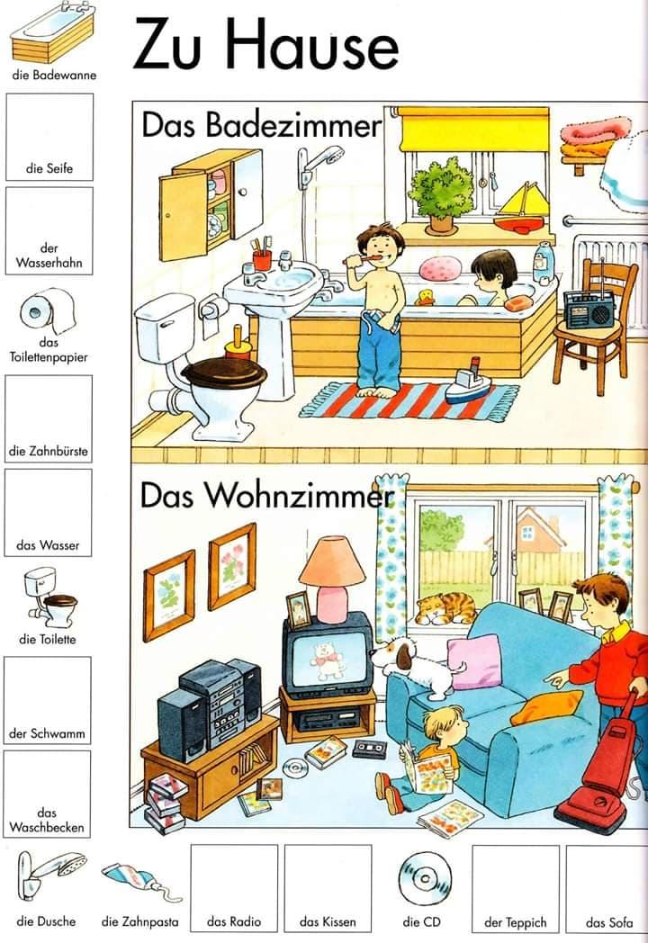 fewfg - Das Badezimmer/Das Wohnzimmer