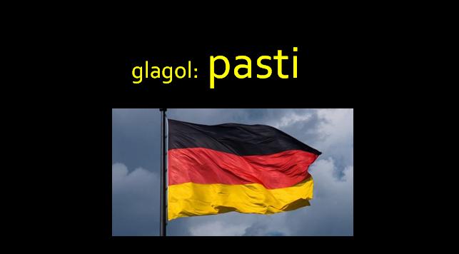 pasti - Glagol: pasti