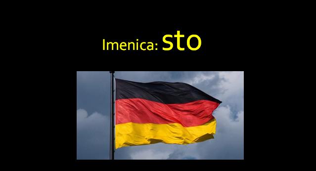 sto - Imenica: sto