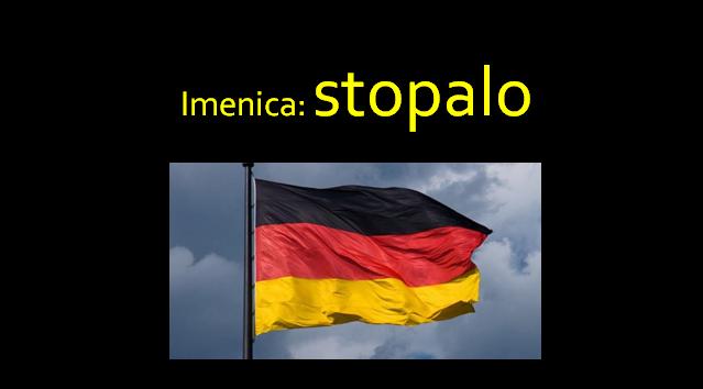 stopalo - Imenica: stopalo