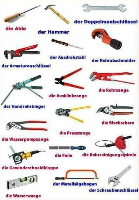 kljubvož - Werkzeuge