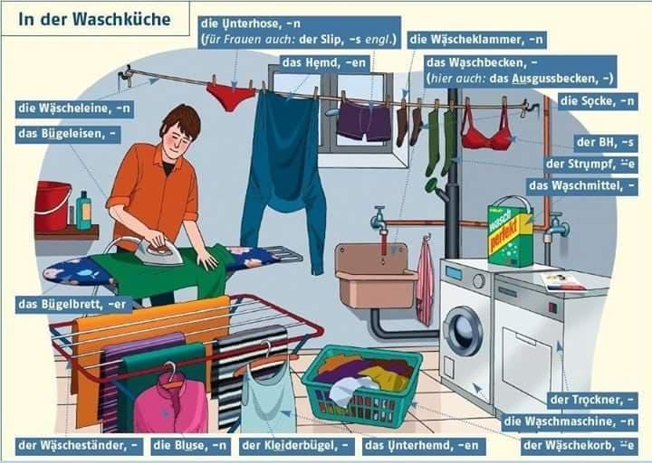 ojčhiu - In der Waschküche