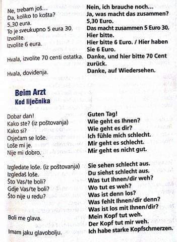 uiguz - Beim Arzt (Kod liječnika)