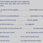 hjcvkjbk 150x150 - Verbinde die Sätze mit  ''weil'' und  ''denn''
