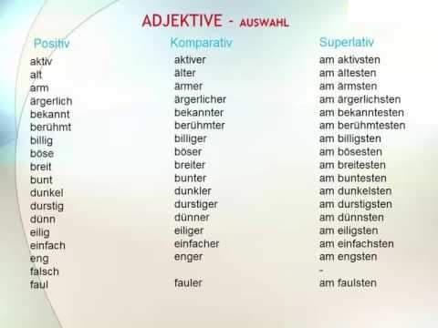 ihiz8tudfio - Adjektive