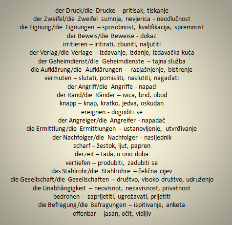 tuvziđ - Wörter – Übersetzung