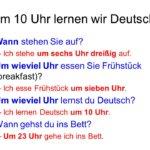 utfziguo 150x150 - Um 10 Uhr lernen wir Deutsch