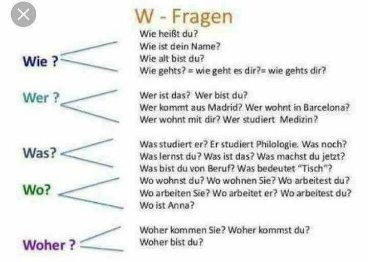 ss - W-FRAGEN
