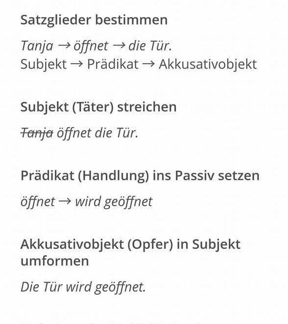 wefwe - SATZGLIEDER BESTIMMEN