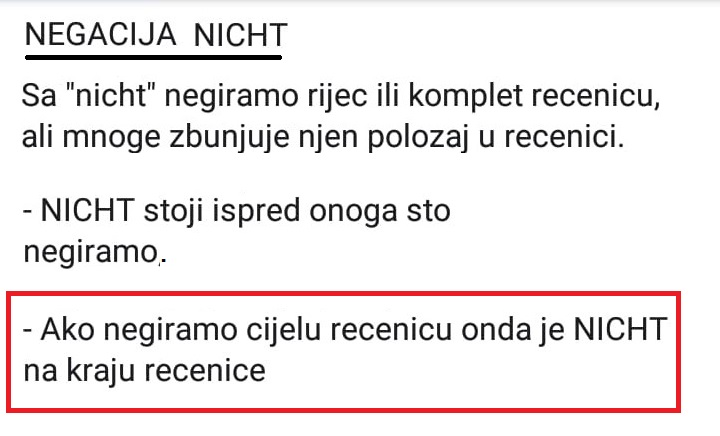 afgsretbsgf - NEGACIJA - NICHT