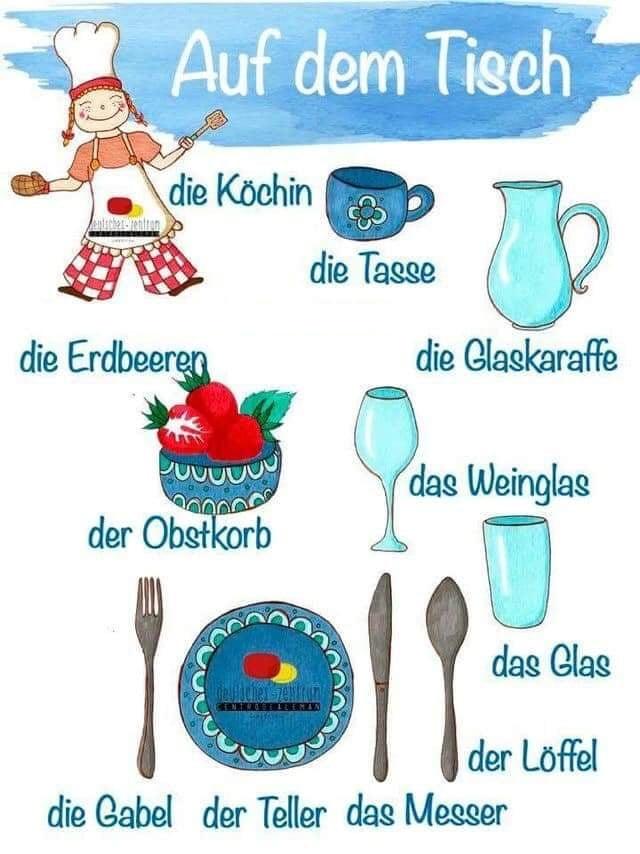 dafewr 1 - Auf dem Tisch