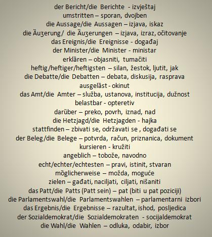 efrgt - Wörter – Übersetzung