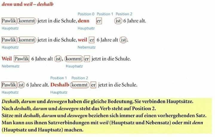 ošpjihugzfutz - DENN UND WEIL,DESHALB