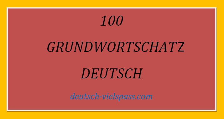 WEFVGV - GRUNDWORTSCHATZ