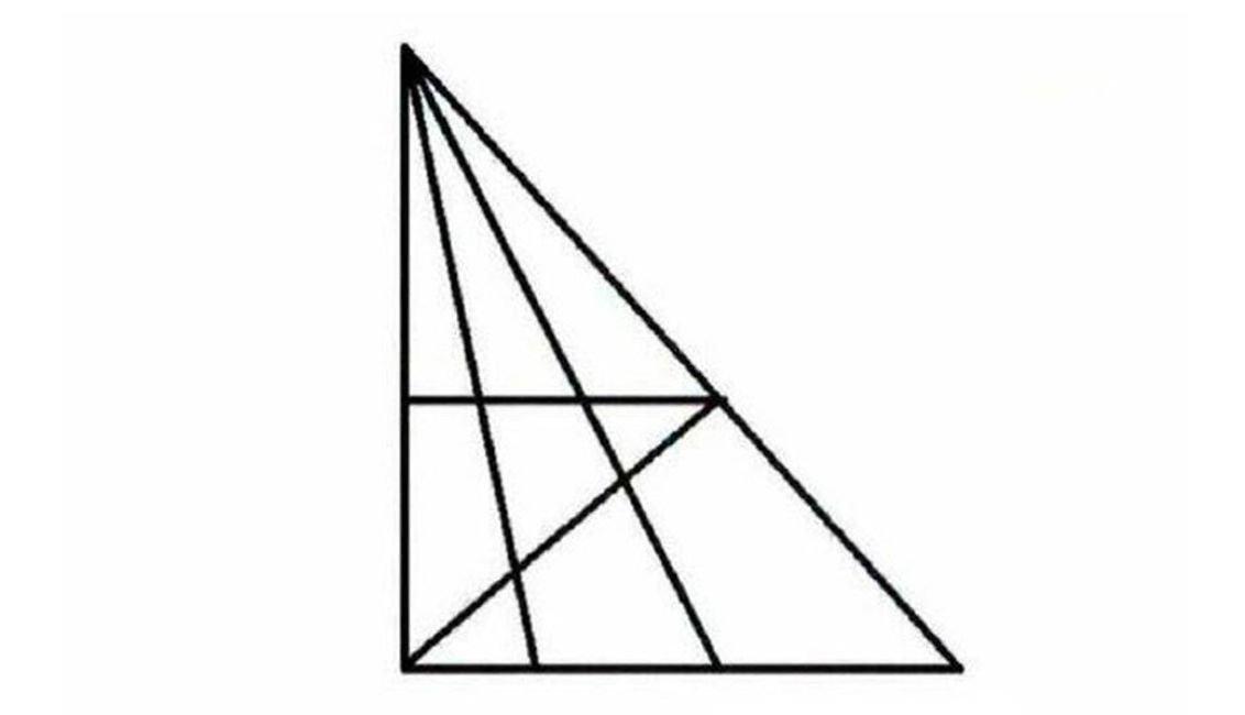 oihguzf - Wie viele Dreiecke siehst Du?