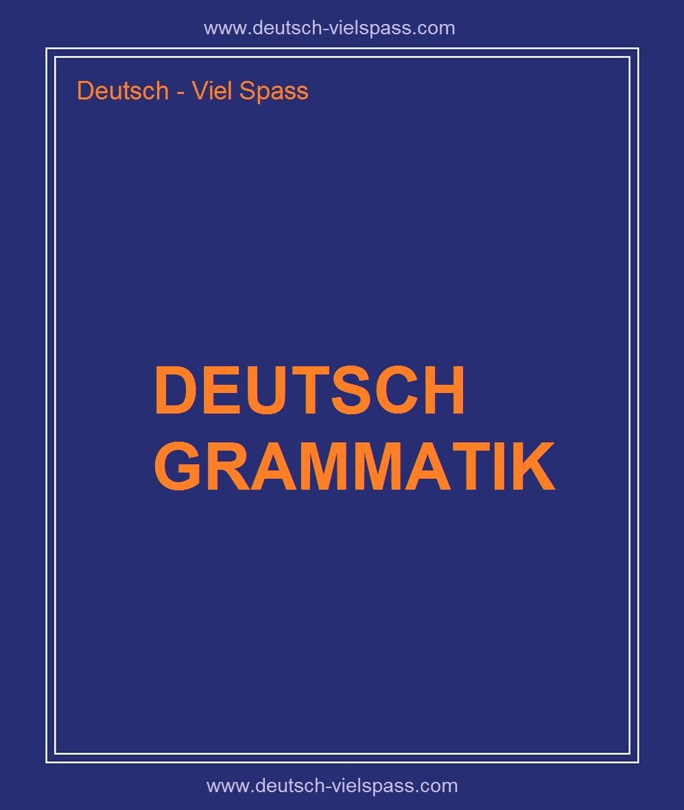 ojhiogu 1 - Deutsch Grammatik
