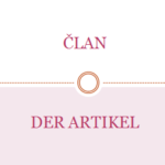 der artikel 150x150 - NJEMAČKA ABECEDA / DAS DEUTSCHE ALPHABET