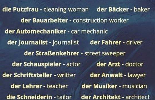 198456481 866001450660888 7682268401619073793 n 540x350 - Berufe in Deutsch